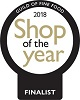 shop of the year award 2018