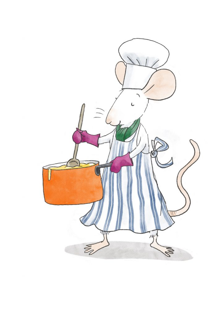 Alastair Mouse's Cheese Sauce Recipe