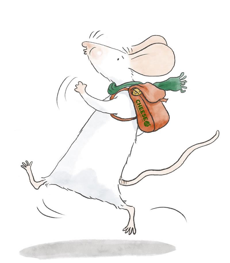 The running cheesemonger