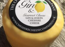 Cheshire Cheese Co. Gin and Lemon Cheese